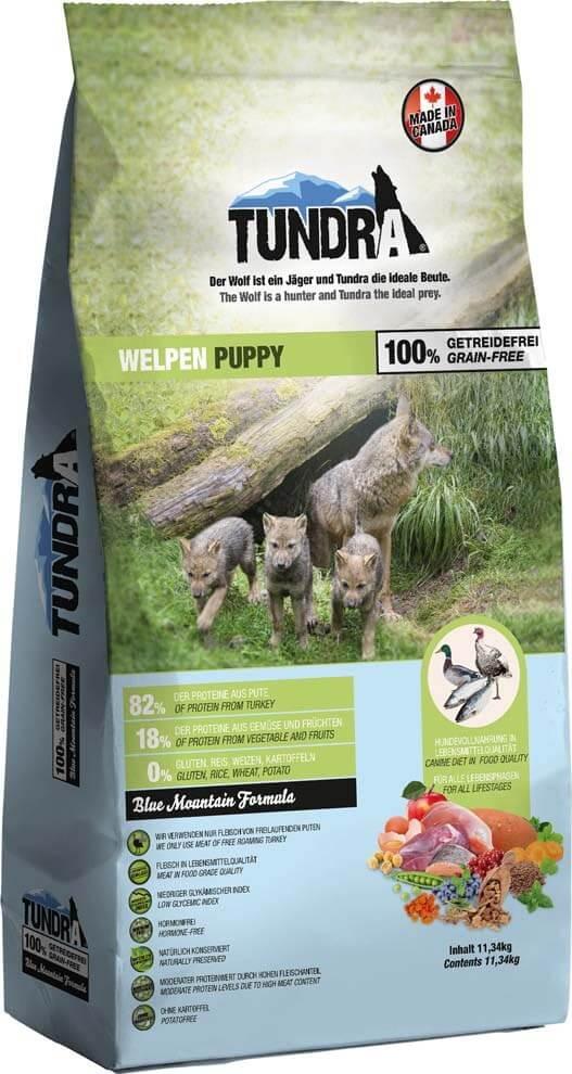 Tundra para cachorros