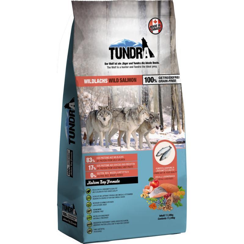 Nuevo pienso tundra con salmon