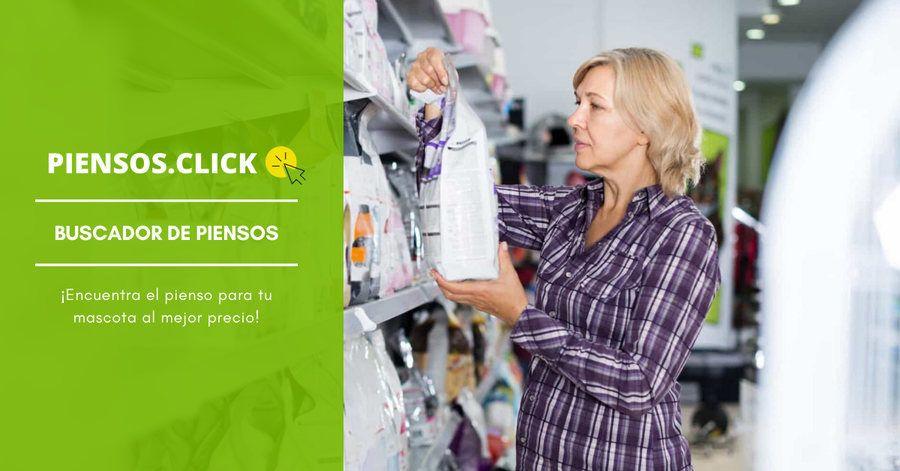 buscador para comprar pienso barato online