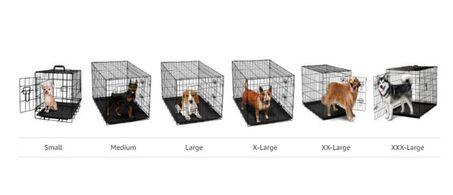 tamaños jaulas metalicas perros